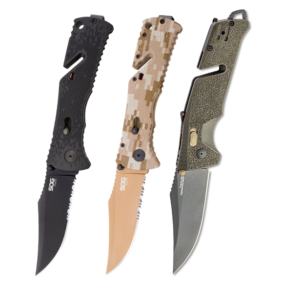 SOG Trident Tactical Rescue Folders