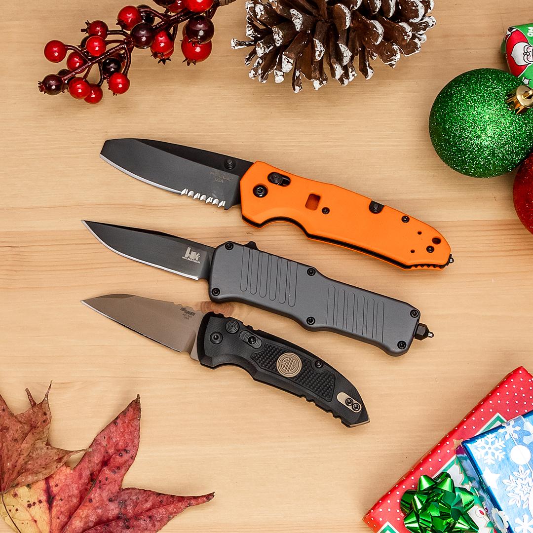 Last Chance: SIG/H&K/Hogue Knives Sale