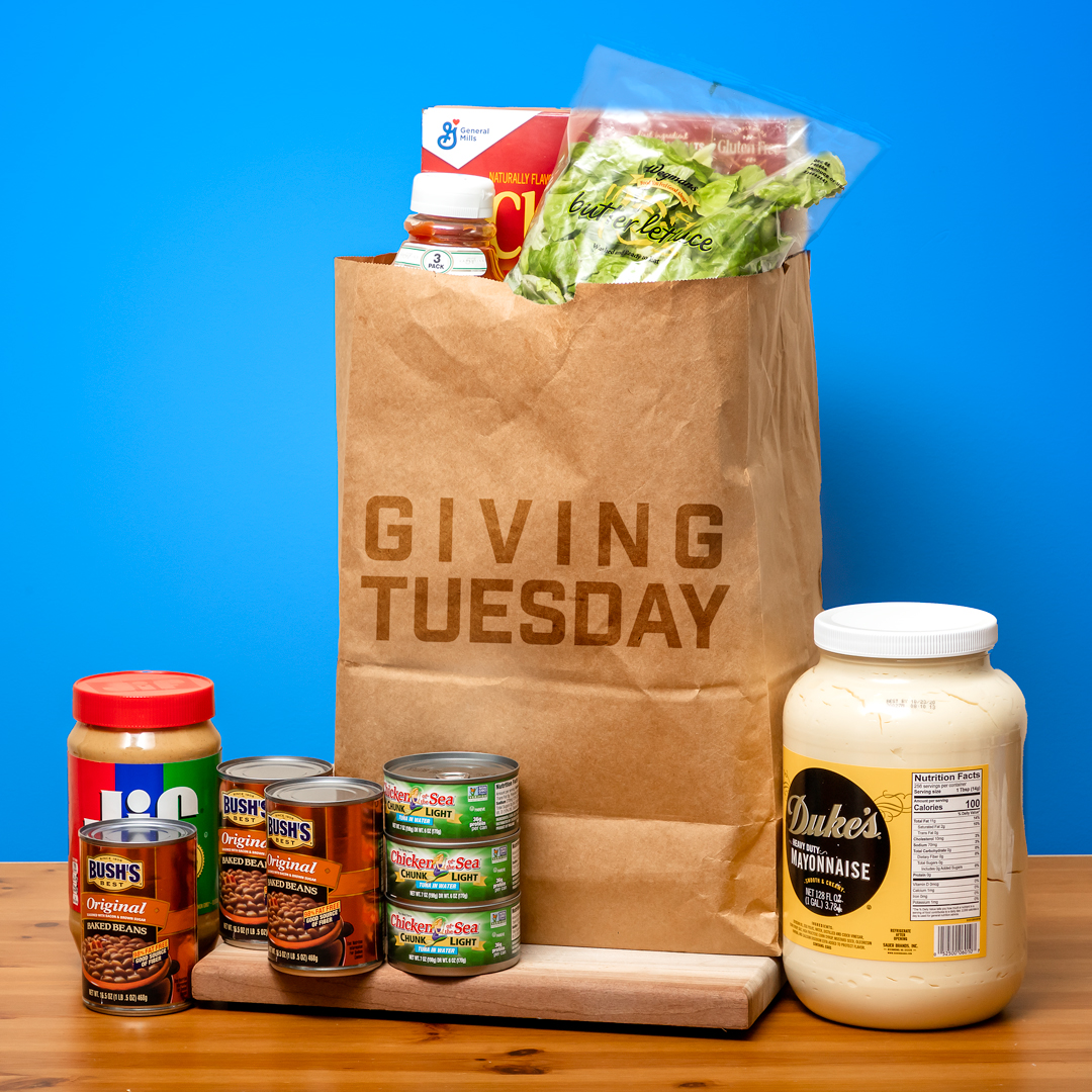 Giving Tuesday - Help Us Give To Local Food Banks!