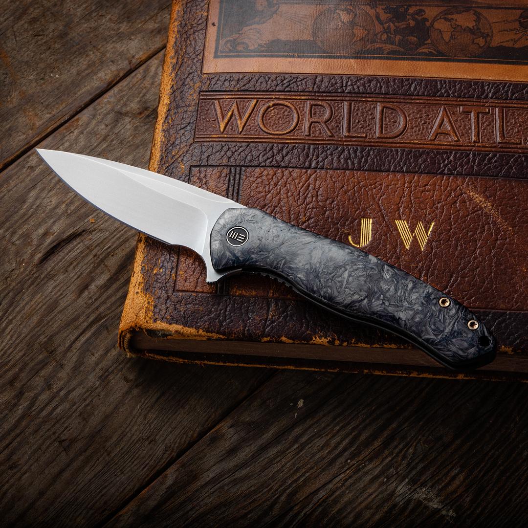 WE Knives Kitefin - Shred Carbon Fiber