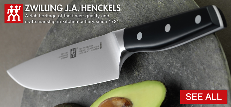 Zwilling J.A. Henckels A rich heritage of the finest quality and craftsmanship in kitchen cutlery since 1731 and decorative background