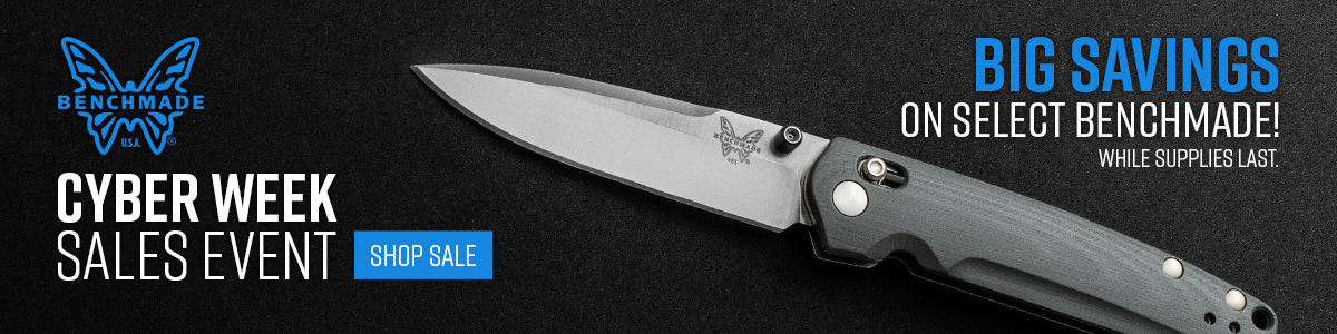 Shop Our Benchmade Cyber Monday Sale!