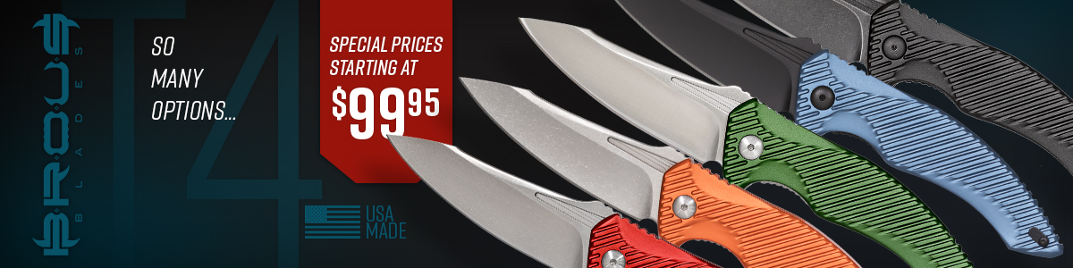 Brous Blades T4 Flipper On Sale