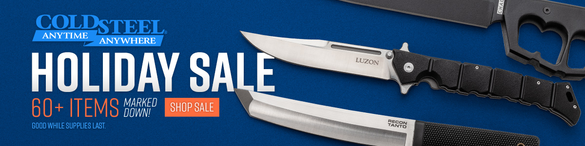 Shop the 2019 Cold Steel Holiday Sale!