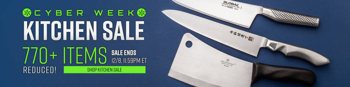 Shop Our Cyber Week Kitchen Knife Sale!