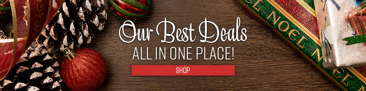 Shop All of Our Holiday Deals!