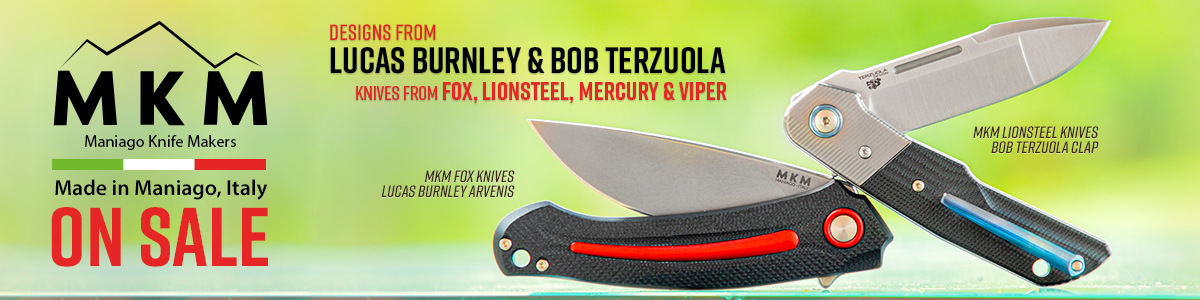 Italian Made MKM Knives On Sale