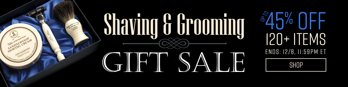 Shop Our Cyber Week Shaving and Grooming Gift Sale!