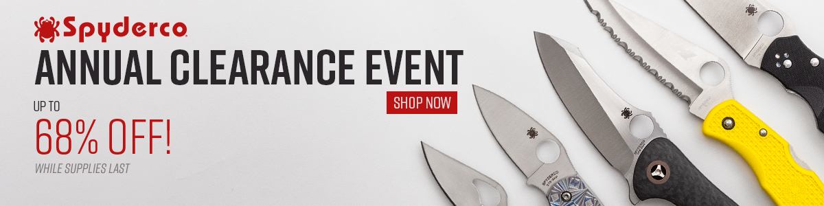 Annual Syderco Clearance Event