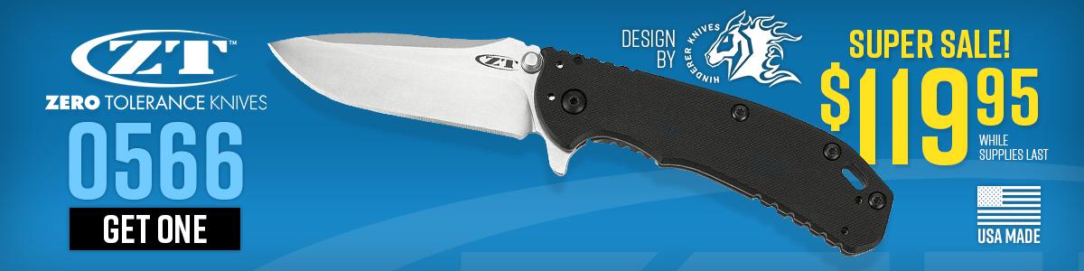 ZT / Hinderer 0566 On Sale!