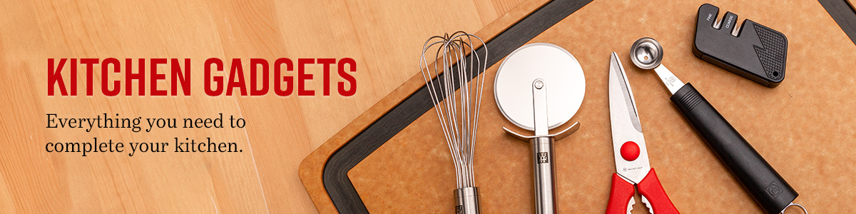 View All Kitchen Gadgets and decorative background