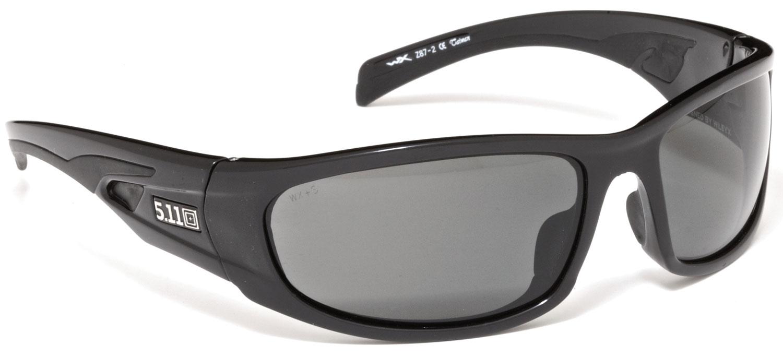 5.11 Tactical Shear Polarized Eyewear, Black (52023-019)