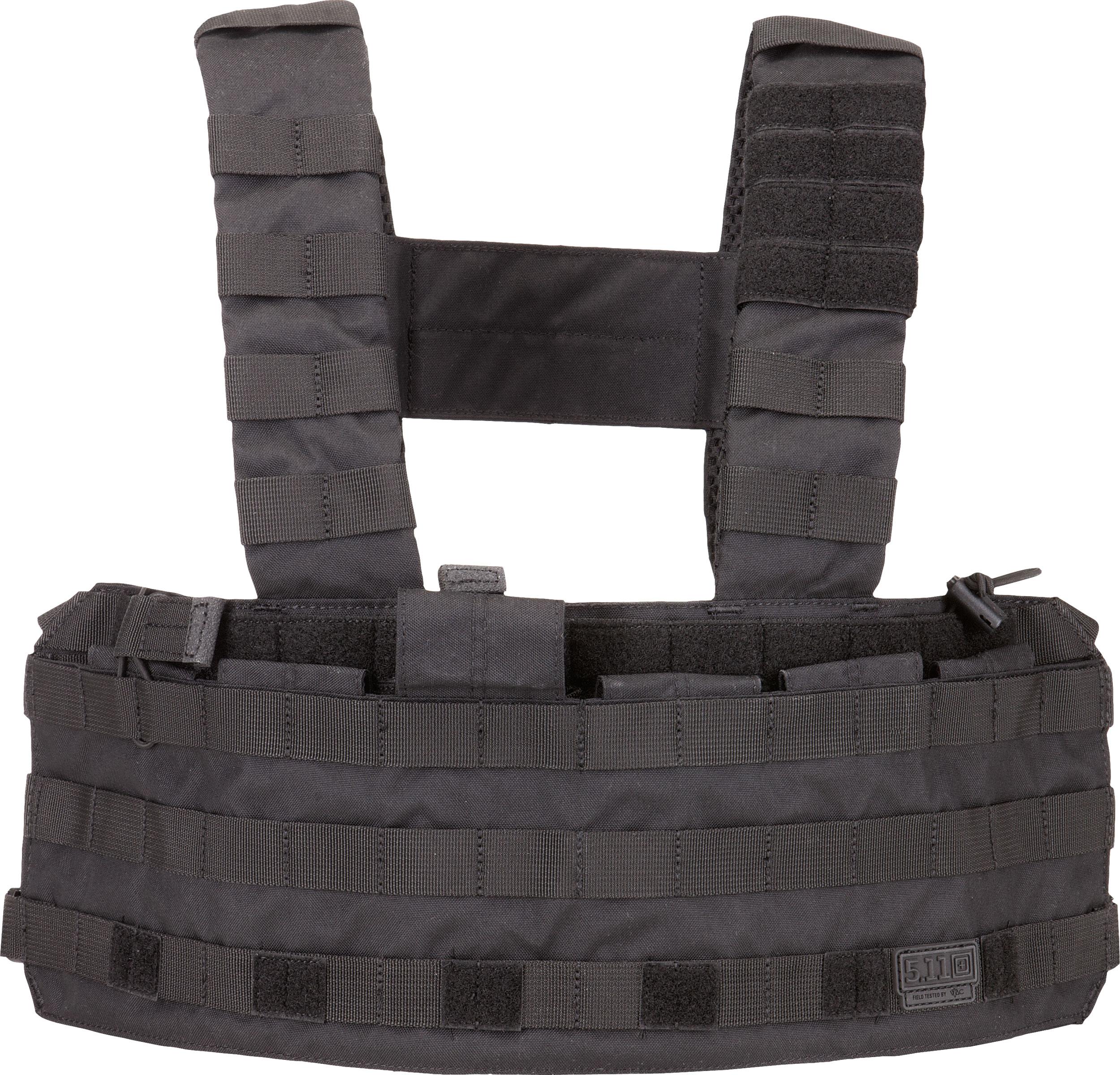 5.11 Tactical TacTec Tactical Chest Rig, Black (56061-019)