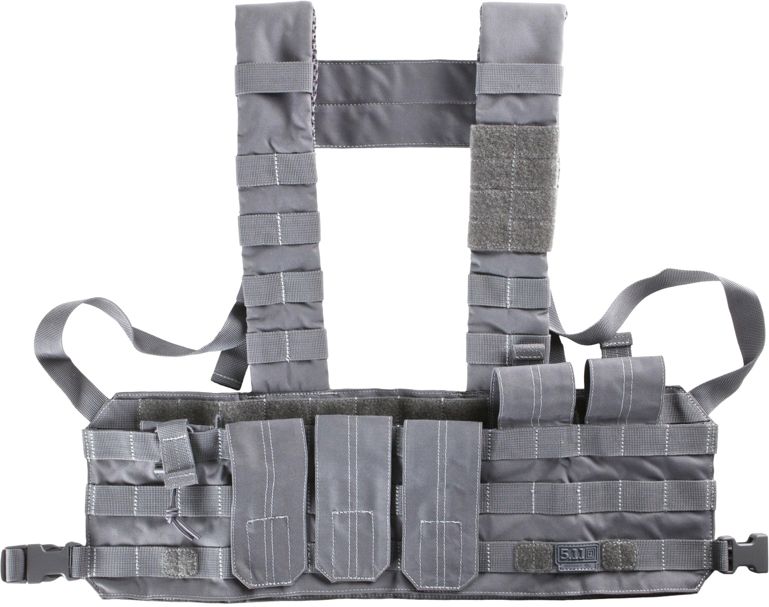 5.11 Tactical TacTec Tactical Chest Rig, Storm (56061-092)