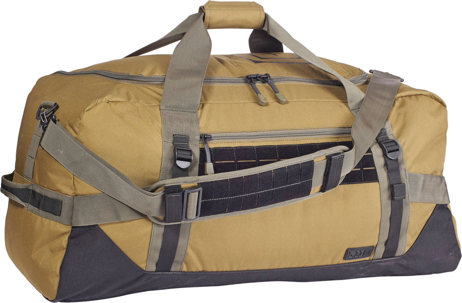 5.11 Tactical NBT Mike Duffle Bag Style 56183 Removable Padded Shoulder Straps Weather Resistant