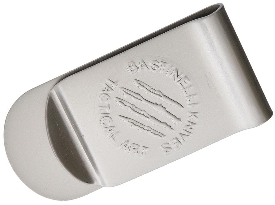 Bastinelli Creations Tactical Art Money Clip, Satin