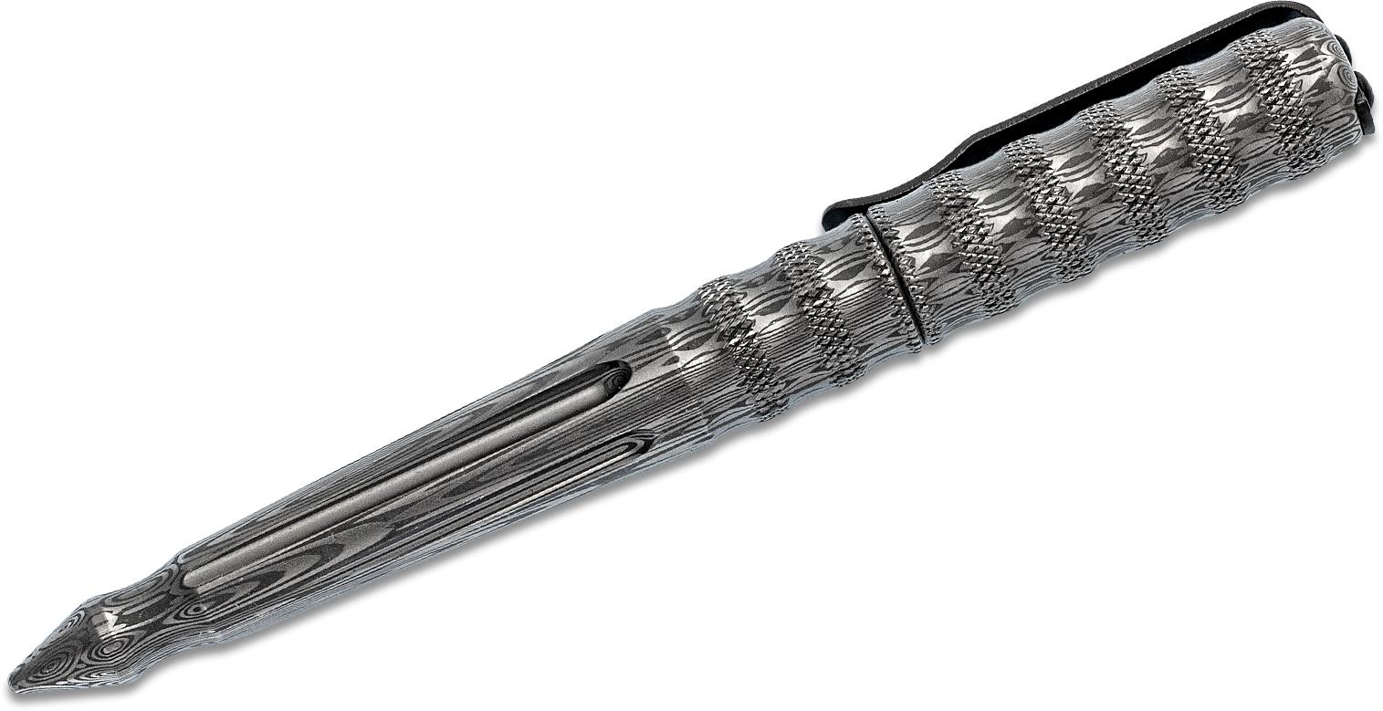 Benchmade Damasteel Tactical Pen, Black Ink