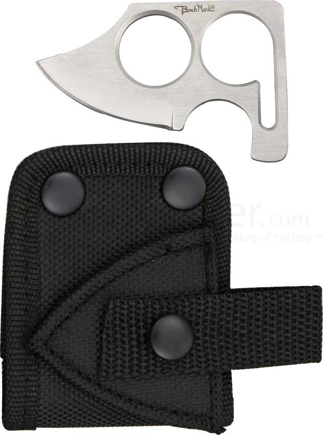 Benchmark Fingerhold Neck Knife Skinner 2 3 4 Quot Overall