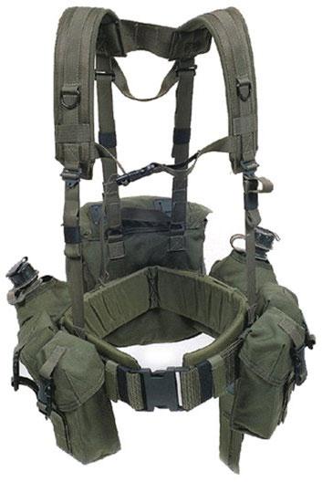 BLACKHAWK! Load Bearing Suspenders, OD Green