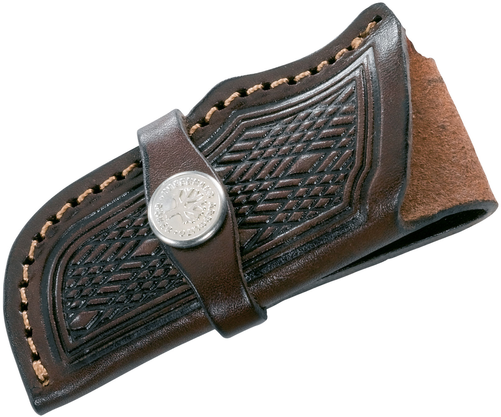 Boker Genuine Leather Sheath for Trappers or Stockmans