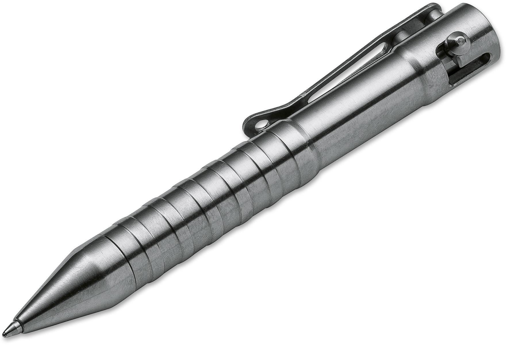 Boker Plus Tactical Pen K.I.D. CAL .50, Satin Titanium