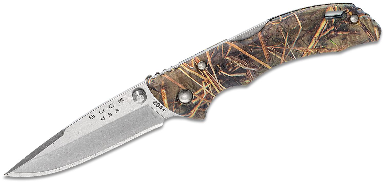 Buck 284 Bantam BBW Folding Knife 2.75 inch Blade, Muddy Water ETP Handles
