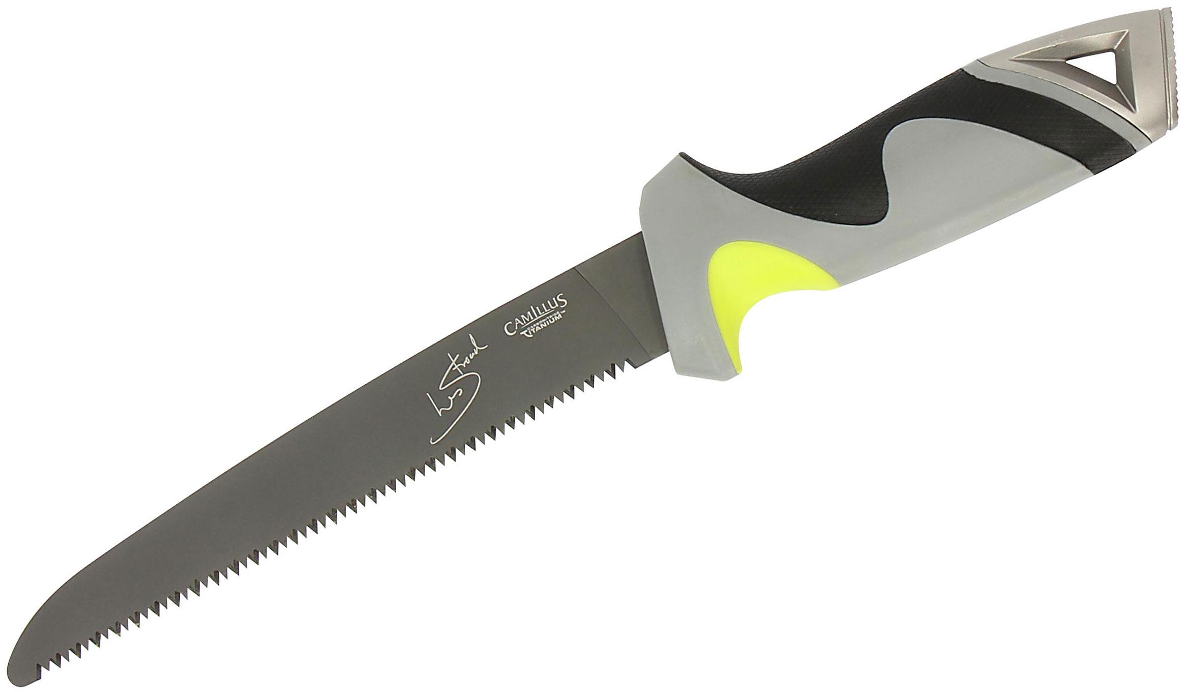Camillus 19121 Les Stroud SK Path Saw 7.25 inch Blade, Nylon Sheath