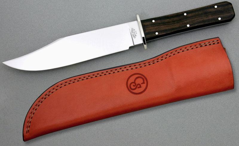 Canal Street Cutlery 1873 Bowie Hunter 6-7/8 inch D2 Steel Blade