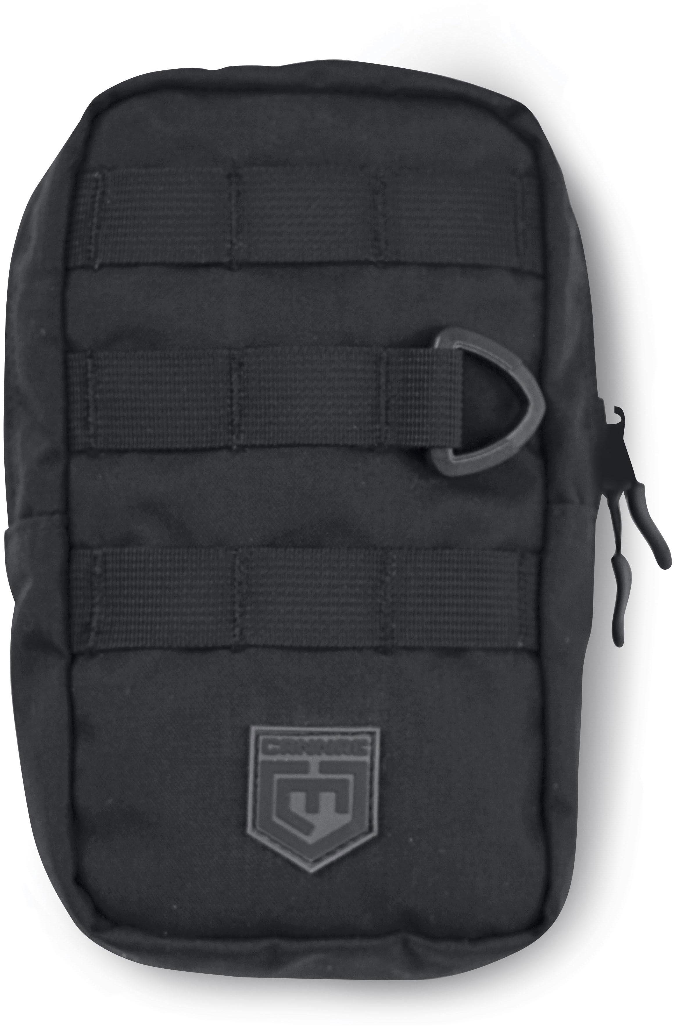 Cannae Pro Gear 9 inch x 6 inch EDC MOLLE Pouch, Black