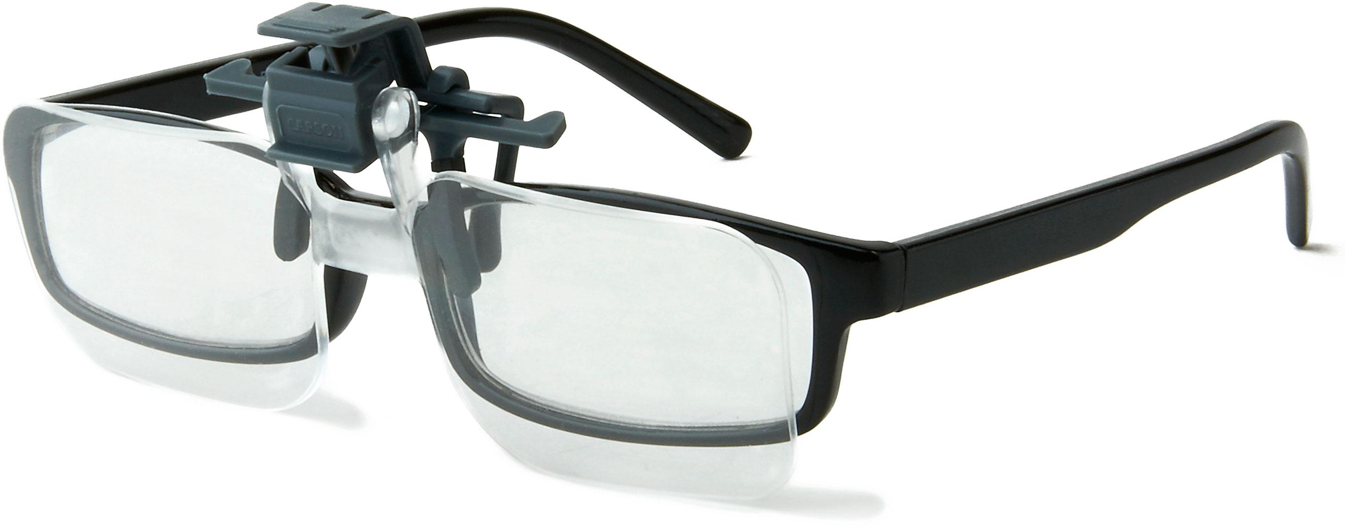 Carson Optical CF-10 Clip and Flip Magnifying Lenses for Eyeglasses