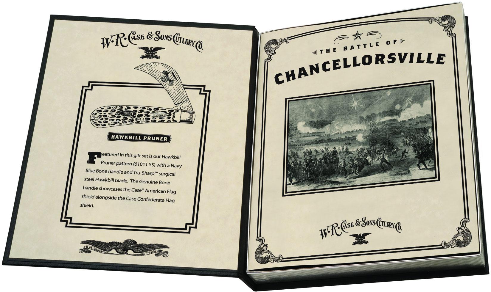 Case Civil War Commemoratives Hawkbill Pruner Battle of