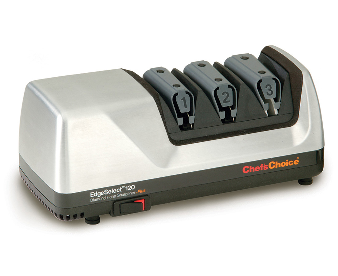 Chef's Choice EdgeSelect Deluxe 3 Stage Electric Diamond Sharpener Model 120M, Metal