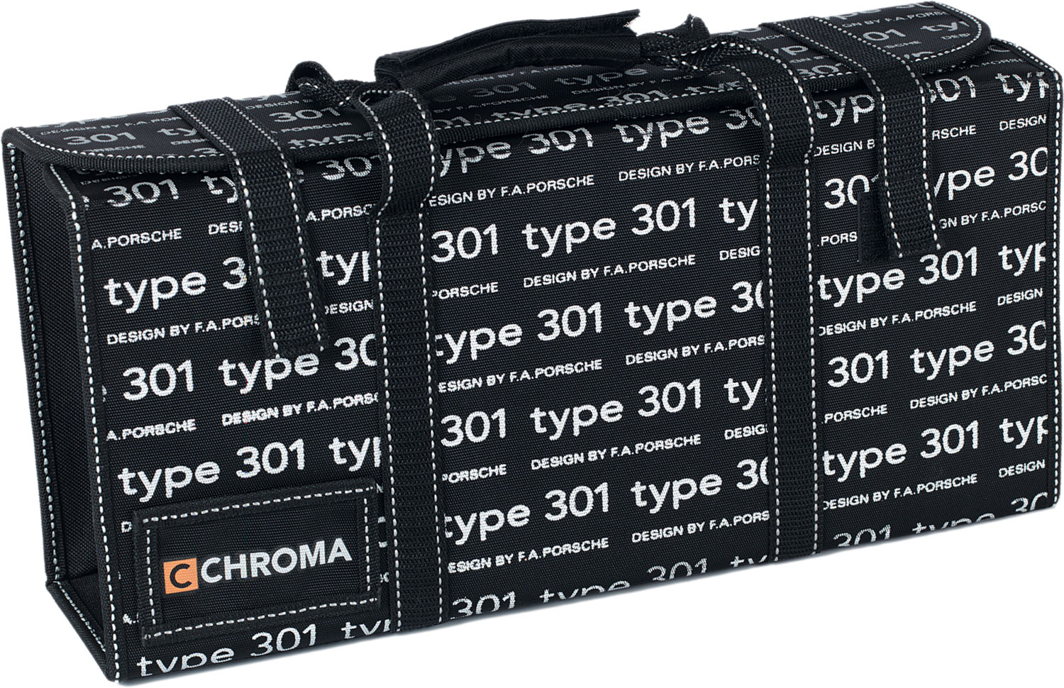 Chroma Cutlery F.A. Porsche Type 301 Chef's Knife Bag, Japanese 301 Stainless Steel