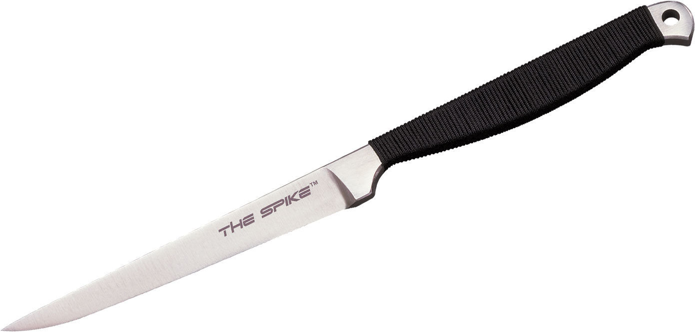 Cold Steel 53CC Spike Drop Point 4 inch Blade, Cord Wrapped Handle