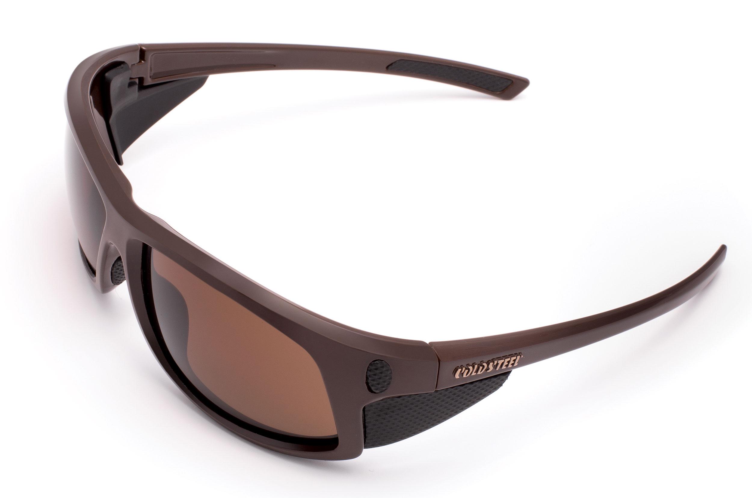 Cold Steel EW13M Battle Shades Mark-I Eyewear, Matte Brown Sunglasses