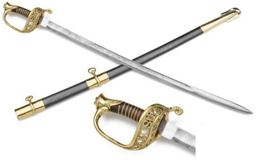 U.S. M1850 Staff And Field Officer's Sword