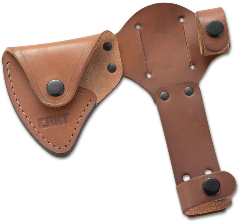 Columbia River CRKT D2730 RMJ Woods Chogan T-Hawk Leather Sheath (Axe Not Included)