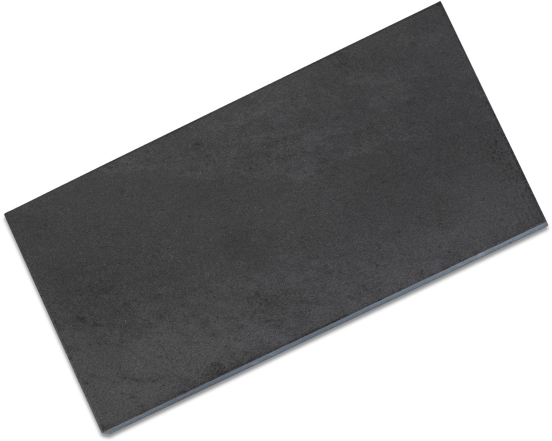 Dan's Whetstone Wide 6 inch Black Hard Arkansas Ultra Fine Novaculite Bench Stone Box (6 inch x 3 inch x 1/2 inch)