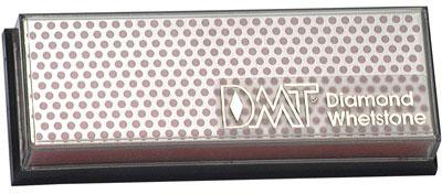 DMT W6FP 6 inch Diamond Whetstone, Fine with Plastic Box