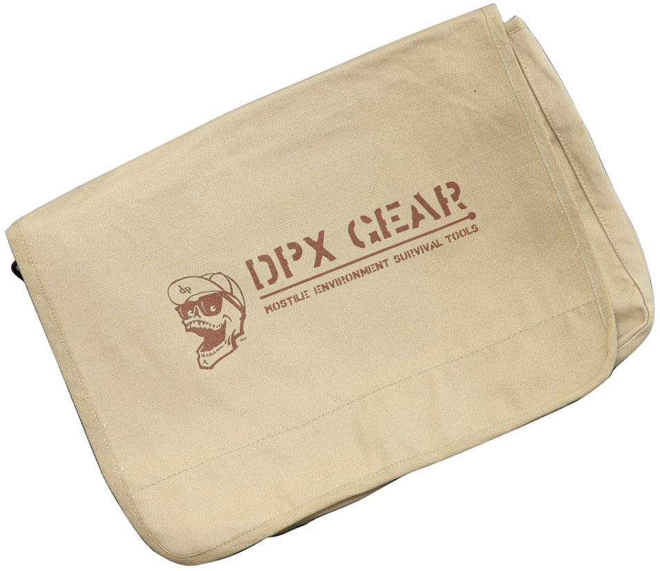 DPx Gear Mr. DP Vintage Paratrooper Canvas Bag 15 inch x 11 inch x 4 inch