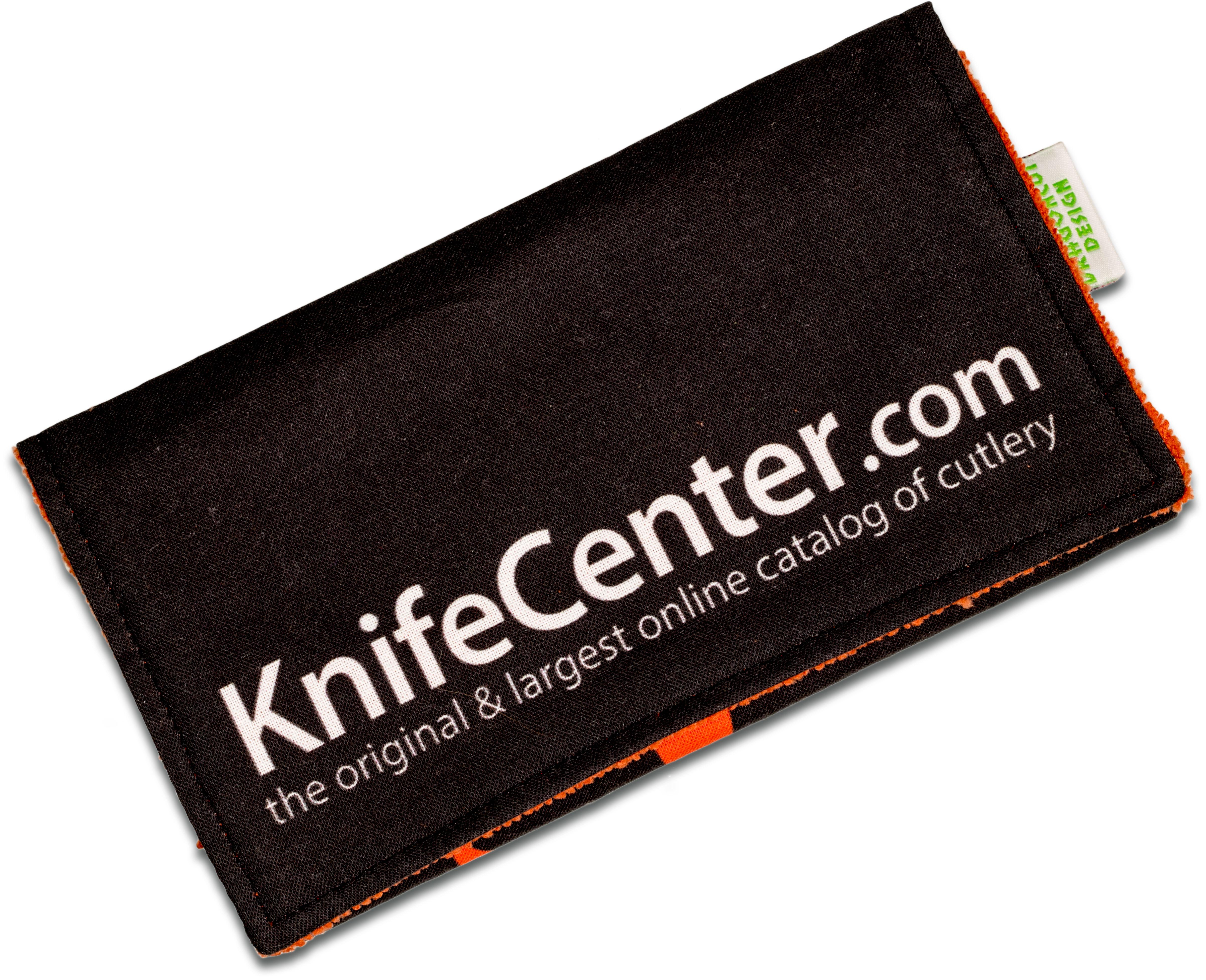 Dragoncut Design KnifeCenter DCC Display, Clean & Carry Pouch