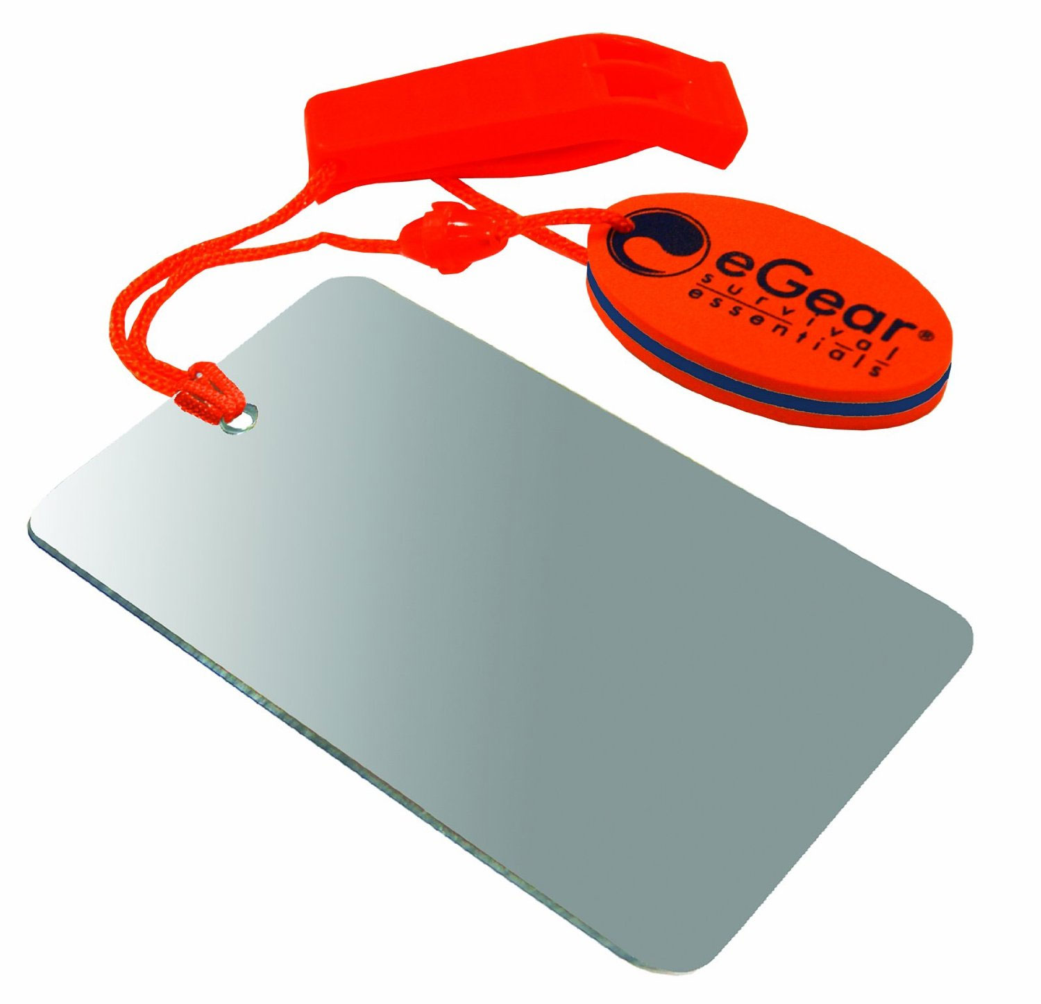 eGear Mirror and Whistle with Float Combo, Orange