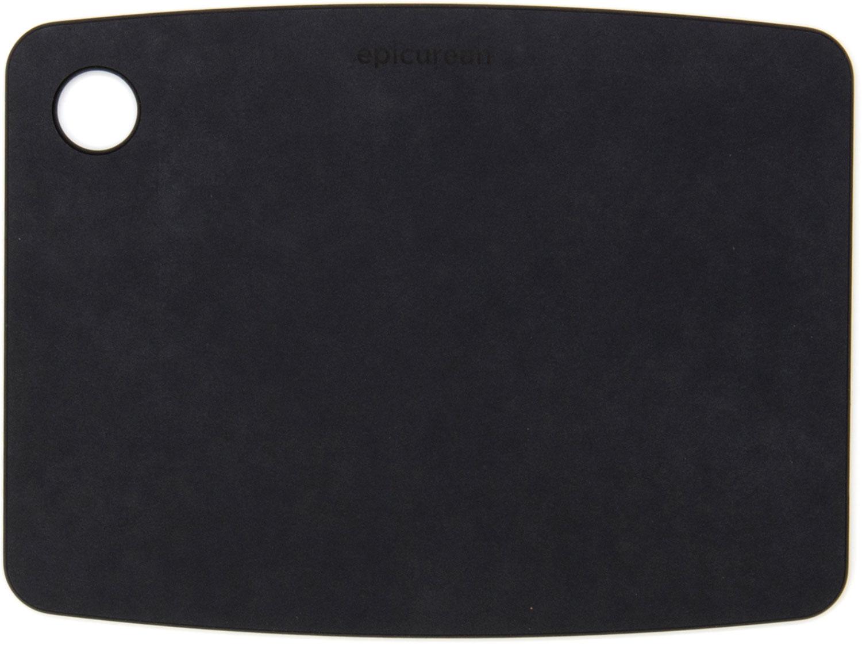 Epicurean Kitchen Series Wood Fiber Cutting Board, Slate, 8 inch x 6 inch
