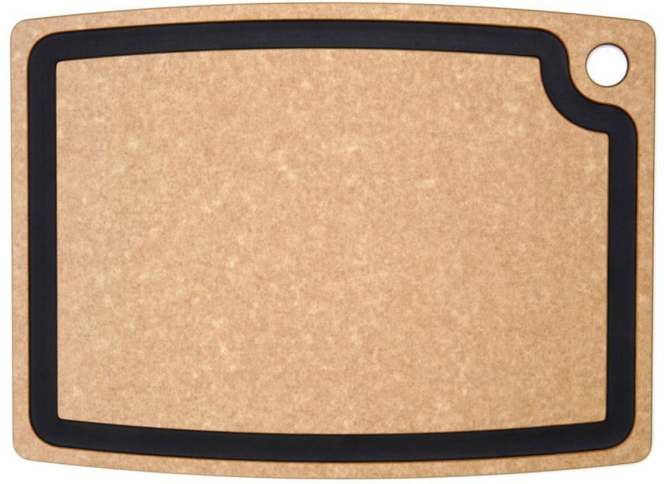 Epicurean Gourmet Series Wood Fiber Cutting Board, Natural/Slate, 17.5 inch x 13 inch