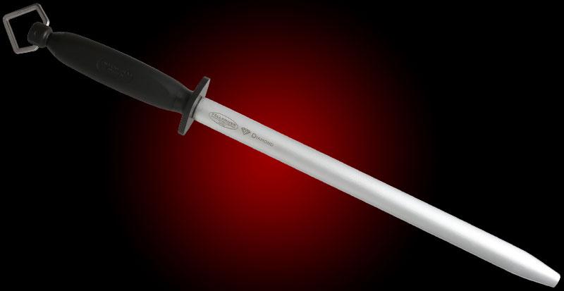 Fallkniven D12pro Diamond Sharpening Steel 17.875 inch Overall