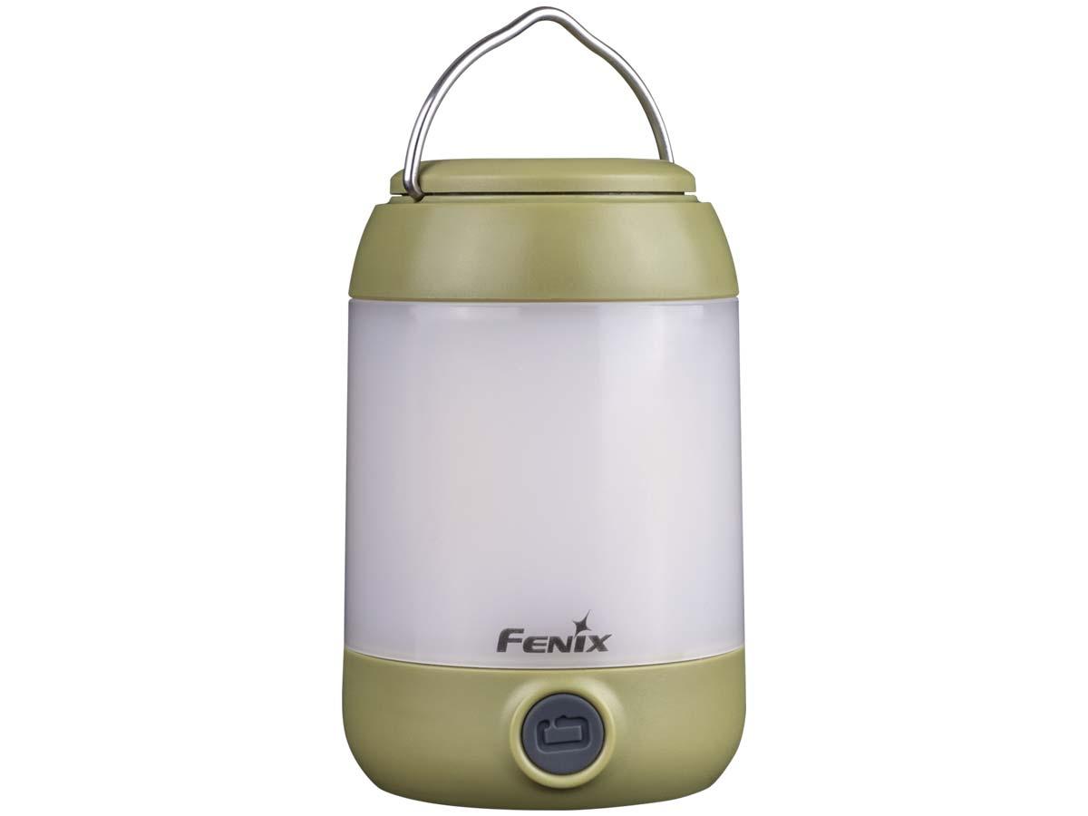 Fenix CL23G Lightweight Camping LED Lantern, Gold, 300 Max Lumens