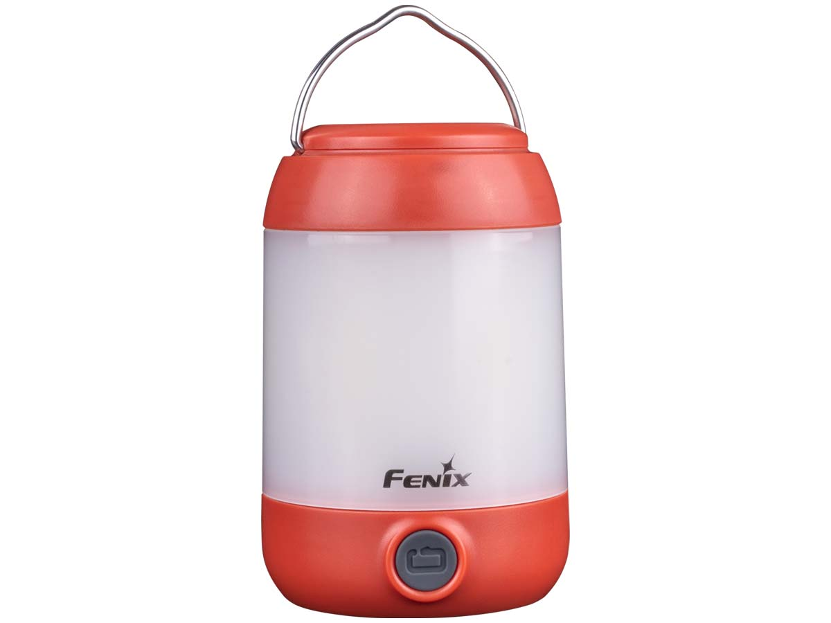 Fenix CL23 Lightweight Camping LED Lantern, Red, 300 Max Lumens
