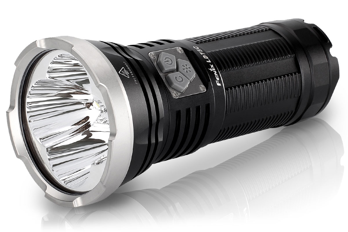Fenix LD75C LED Flashlight, Black, 4200 Max Lumens