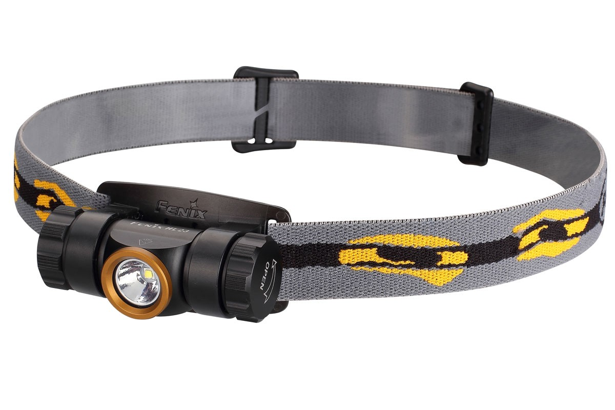 Fenix HL23 LED Headlamp, Gold Bezel, 150 Max Lumens