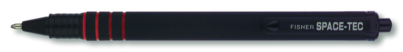 Fisher Space-Tec Retractable Space Pen with Rubber Coated Finish